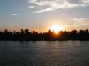 Fond d'�cran Coucher de soleil sur le Nil � t�l�charger gratuitement