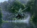 Apache au raz de l'eau