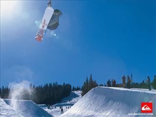 fond d233cran snow quicksilver