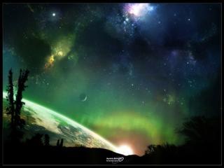 Fond d 39 cran aurore bor ale for Sfondi desktop aurora boreale