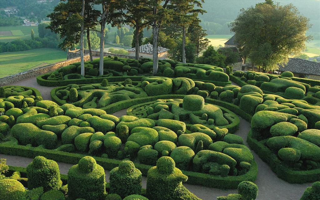 Fond d 39 cran jardins de marqueyssac for Jardin japonais fond d ecran