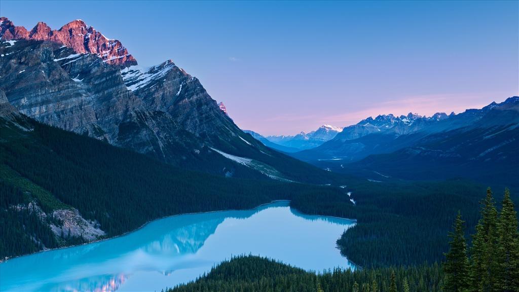 Fond D 233 Cran Lac En Montagne