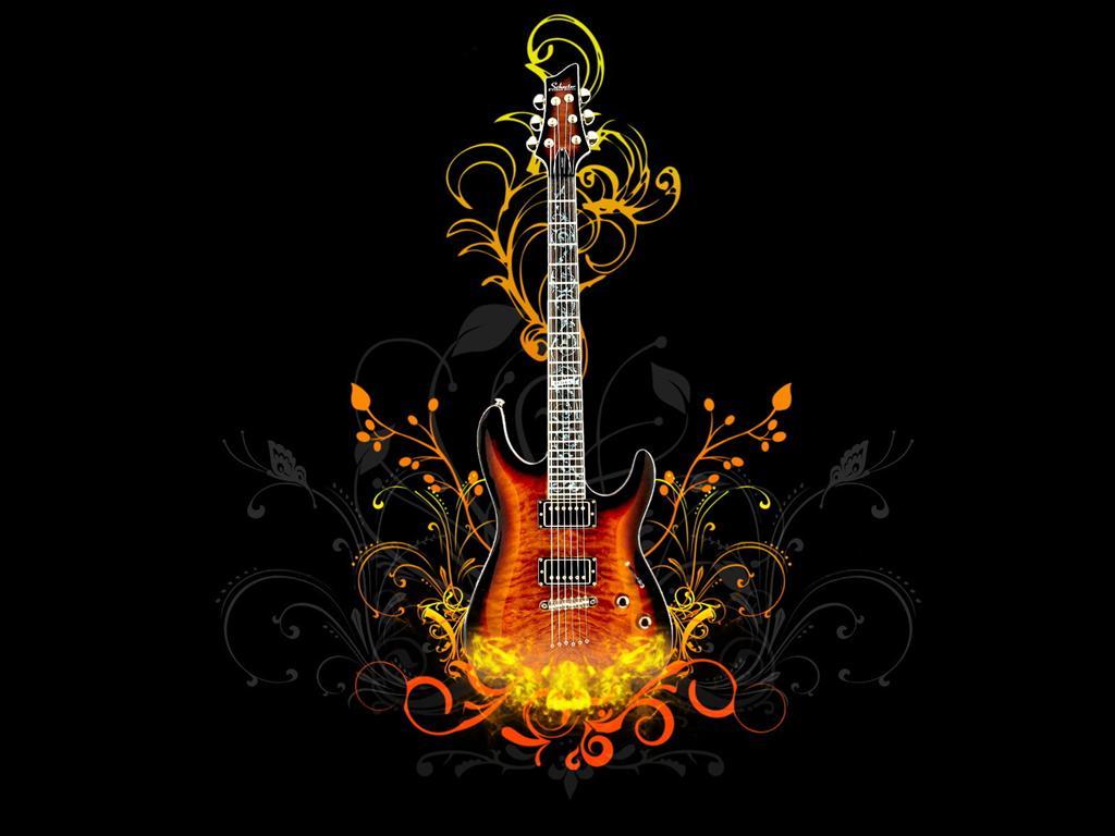 Fond d'écran Guitare