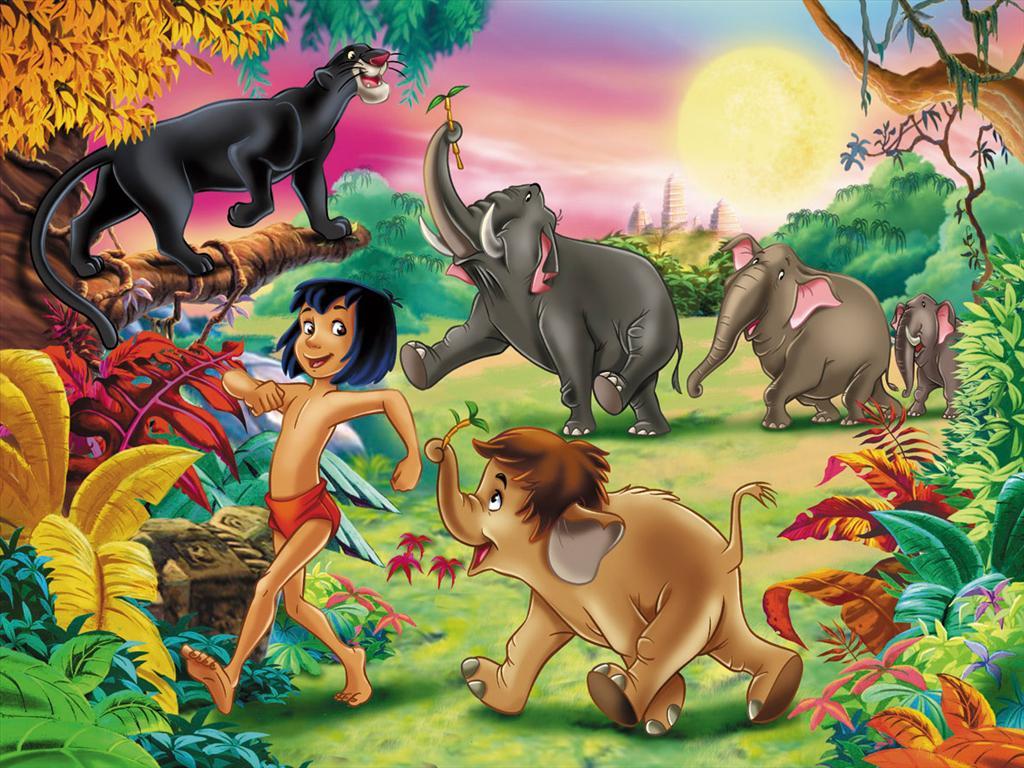 Fond d 39 cran le livre de la jungle - Jeux des as de la jungle ...
