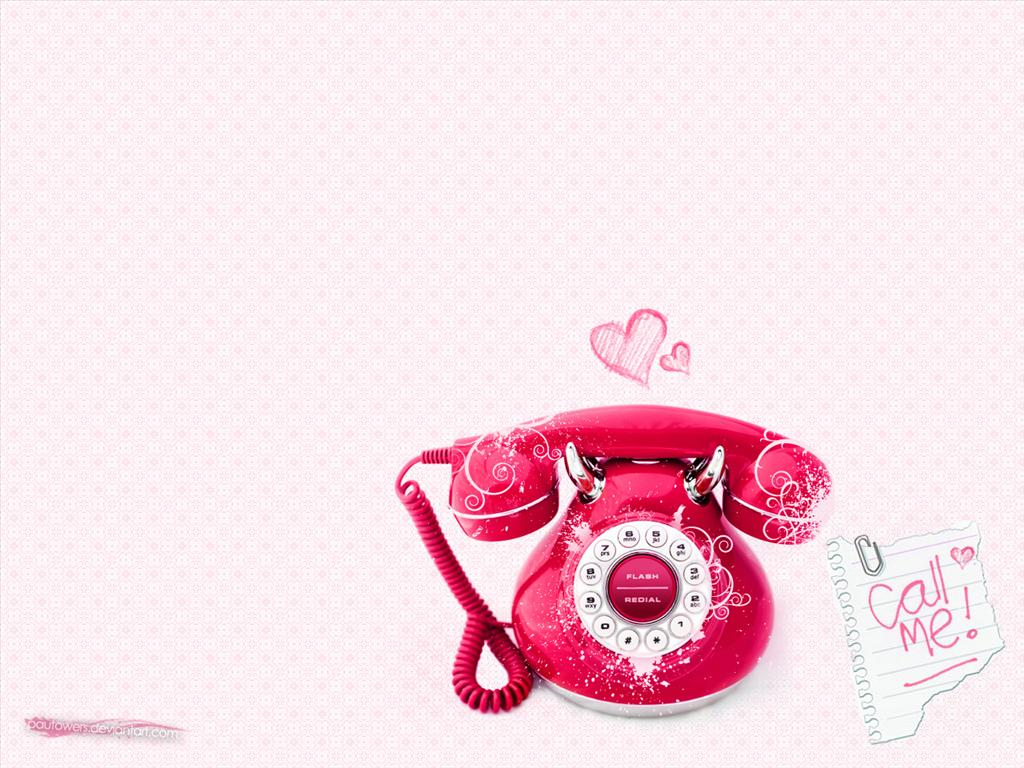 Fond d 39 cran t l phone rose for Photo ecran telephone