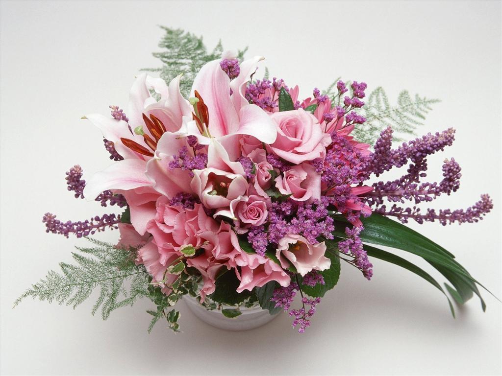 Fond d 39 cran bouquet de fleurs for Bouquet de fleurs raiponce