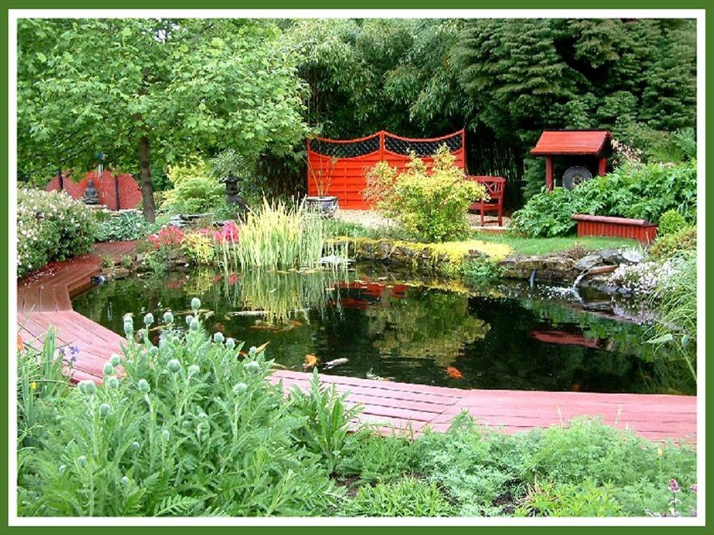 Fond D 39 Cran Jardin Japonais