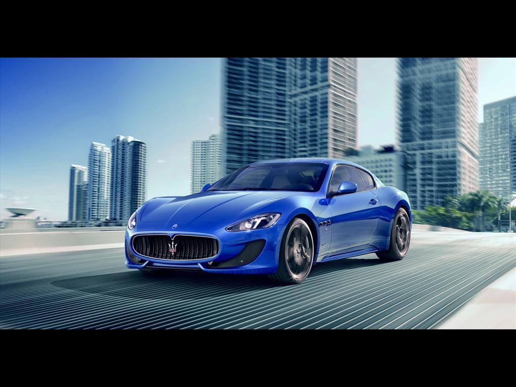 Fond D 233 Cran Maserati Granturismo Sport