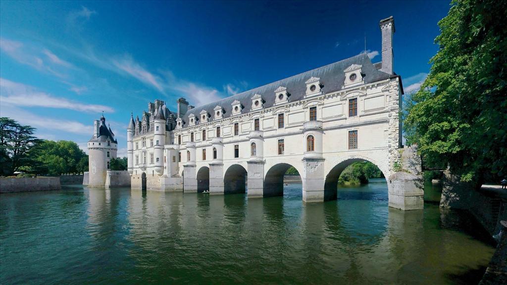 Fond D Ecran Chateau De Chenonceau