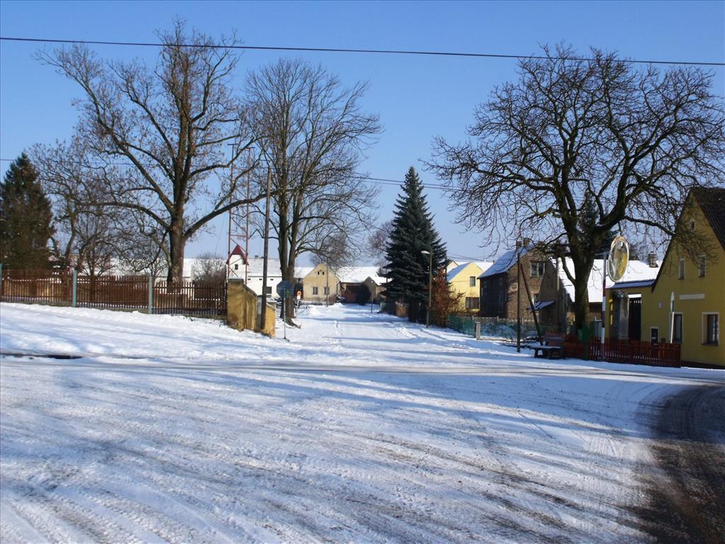 fond d'ecran gratuit village sous la neige
