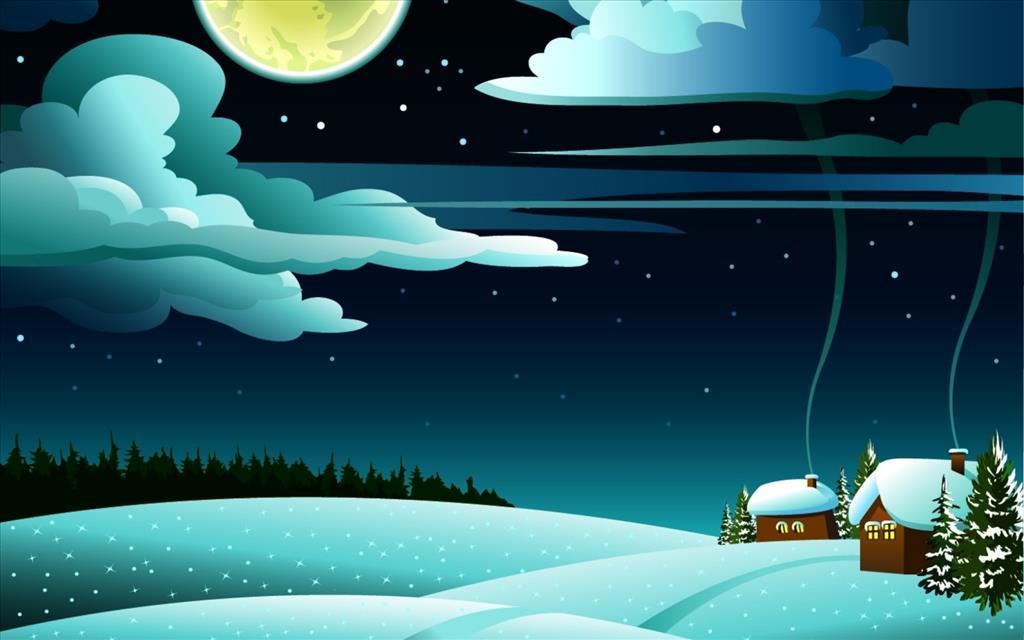 Ночь природа