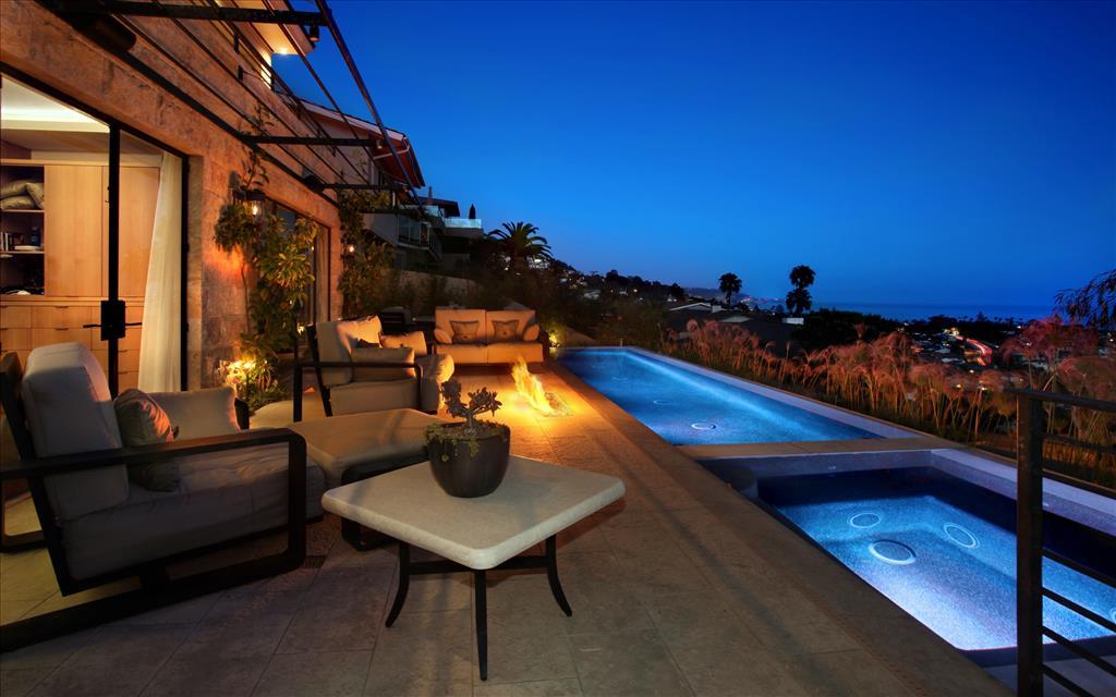 Fond d 39 cran villa de r ve - Beachfront houses in california ...
