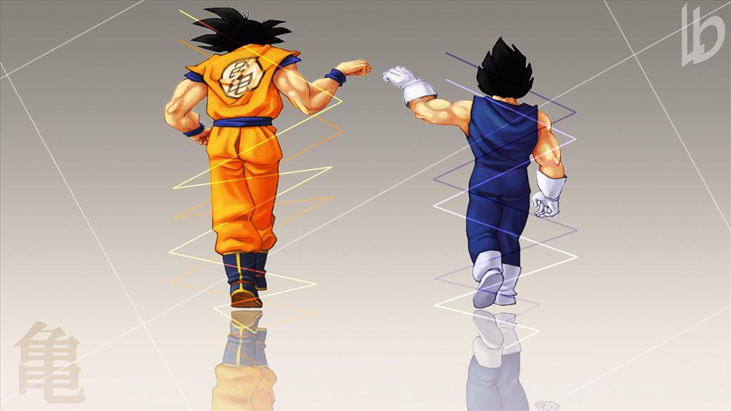 fond d'ecran dragon ball z